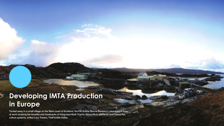 Developing IMTA production in Europe