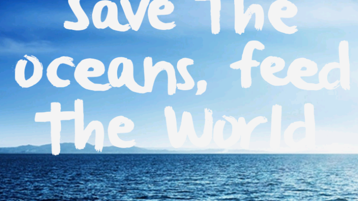 "Globally Acclaimed Chefs Unite to ""Save the Oceans: Feed the World """
