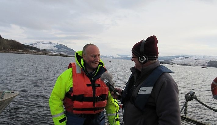 IDREEM partner Loch Fyne explains IMTA on BBC Radio