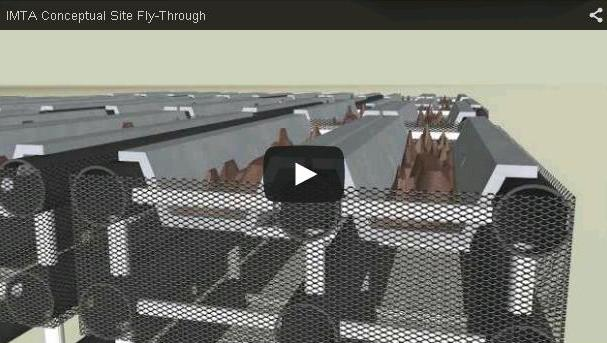 Fly through a conceptual IMTA site
